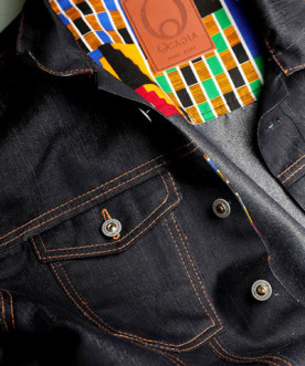 African denim made here at Ocacia