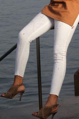 Basquiat Ladies Jeans