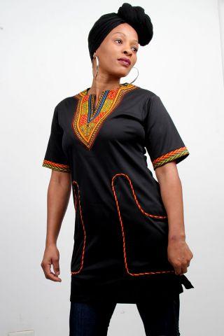Dashiki Ladies dress Bongeka Doko