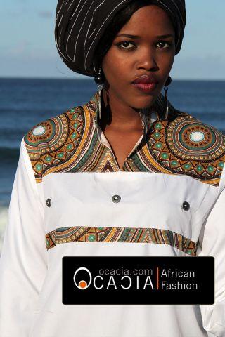 Modern Ladies Chic African dress top