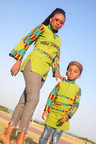 Hausa Ladies Denim Dress