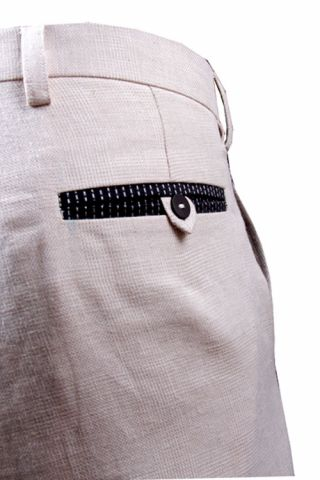 Formal African Linen Pants for men
