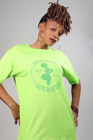 Motherland Green Tee