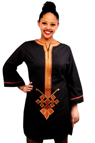 Saba - Traditional Habesha Ethiopian Eriterian Clothing for Ladies