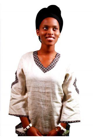 Zimbali African Ladies top