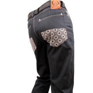 African designer jeans