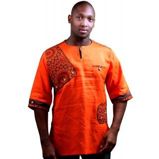 Aten Pan-African Traditional Modern Designer African Shirt