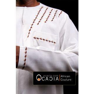 White Afro Arab Dashiki Gaddafi