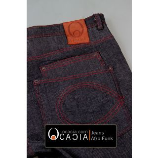 7 pocket Afro funk Soul Jeans by Ocacia