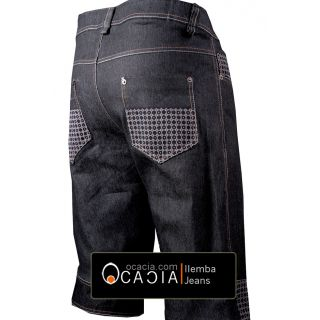 3/4 Afro Jeans