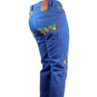 Kente Afro-Jeans
