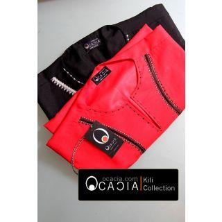 Black and Red Kili Collection African dashiki American