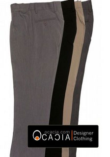 Formal African pants with African accents