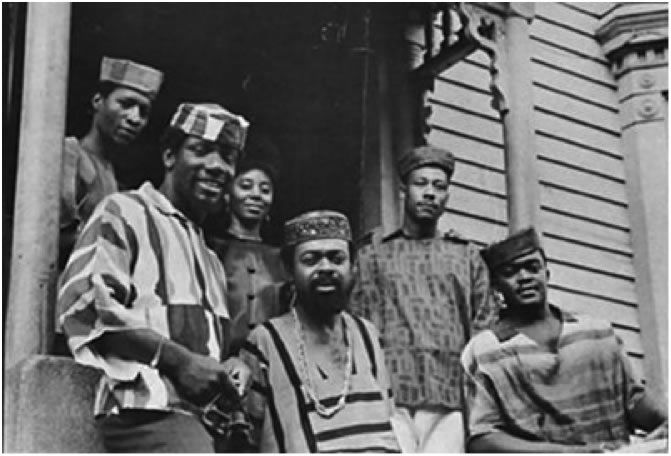 African Americans wearing Dashiki in the 1960's